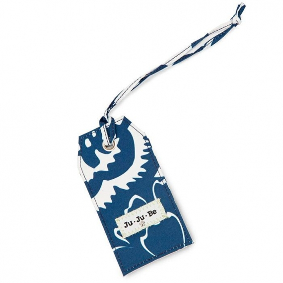 Багажная бирка Ju-Ju-Be Be Tagged cobalt blossoms