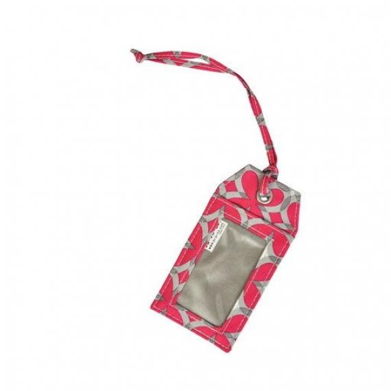 Багажная бирка Ju-Ju-Be Be Tagged pink pinwheels
