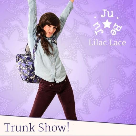 Сумка рюкзак для мамы Ju-Ju-Be B.F.F. lilac lace