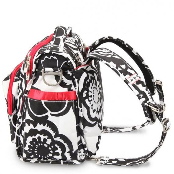 Сумка рюкзак для мамы Ju-Ju-Be B.F.F. onyx blossums