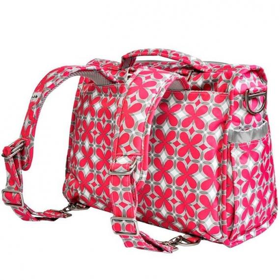 Сумка рюкзак для мамы Ju-Ju-Be B.F.F. pink pinwheels