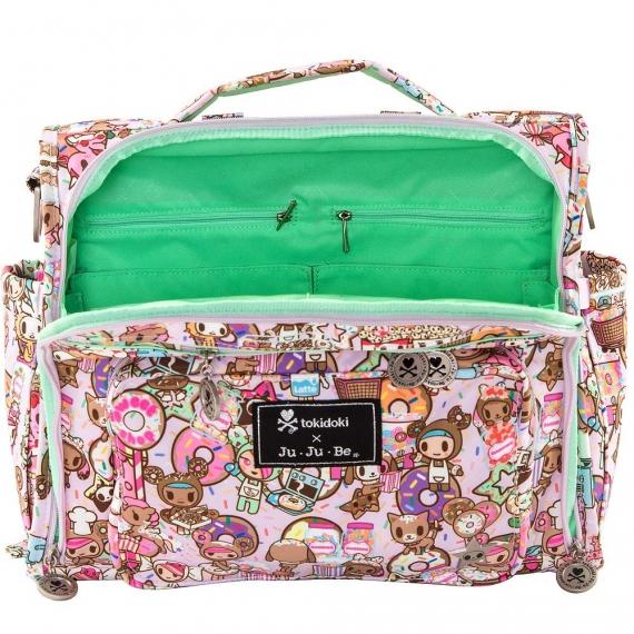 Сумка рюкзак для мамы Ju-Ju-Be B.F.F. Tokidoki donutellas sweet shop