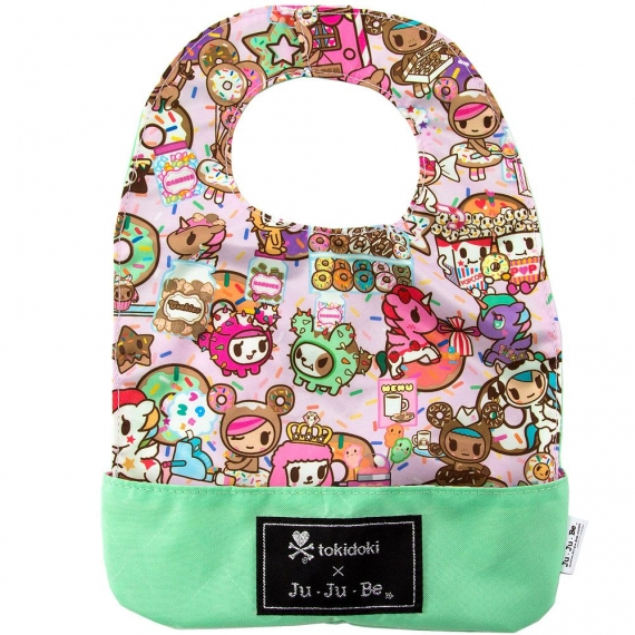 Слюнявчик Ju-Ju-Be Be Neat Tokidoki donutellas sweet shop