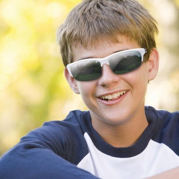 Очки для взрослых и подростков Blade белый/синий