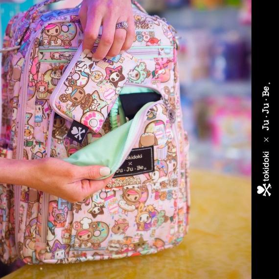 Рюкзак Ju-Ju-Be Be Right Back tokidoki donutellas sweet shop