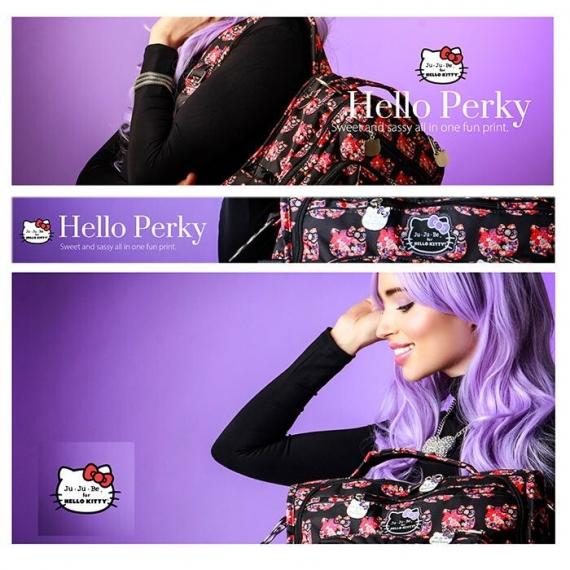 Слюнявчик Ju-Ju-Be Be Neat Hello Kitty hello perky