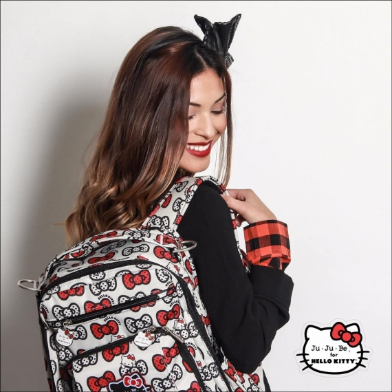 Рюкзак Ju-Ju-Be Be Right Back Hello Kitty Peek a Bow
