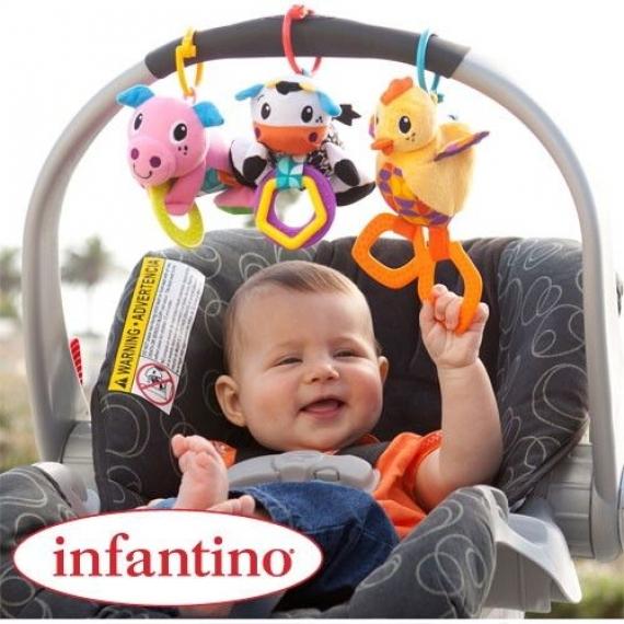 """Развивающая игрушка """"Забавная ферма"""" infantino"""