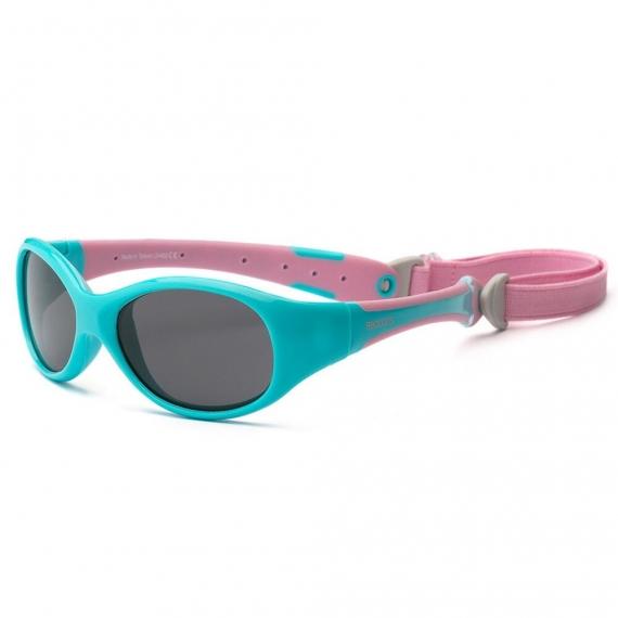 Детские солнцезащитные очки Real Kids Explorer 2-4 года розовый/бирюза
