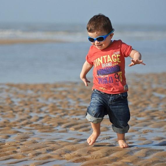 Детские солнцезащитные очки Real Kids Explorer 2-4 года синий/зеленый