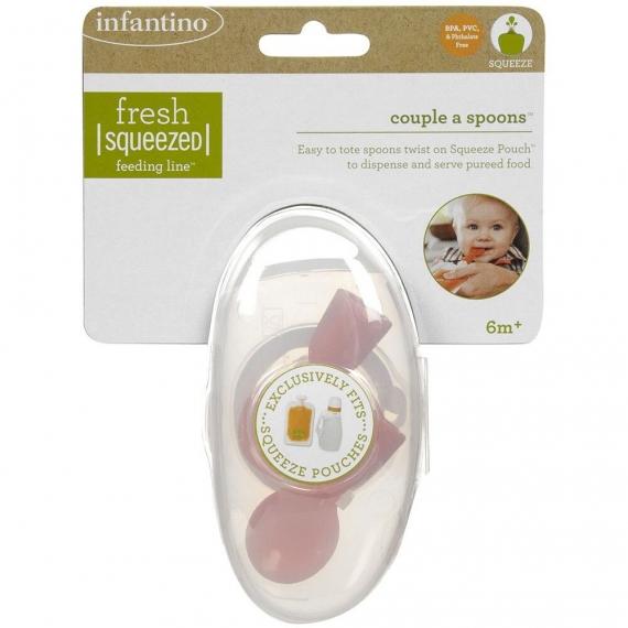 Ложечки Couple a Spoons infantino fresh