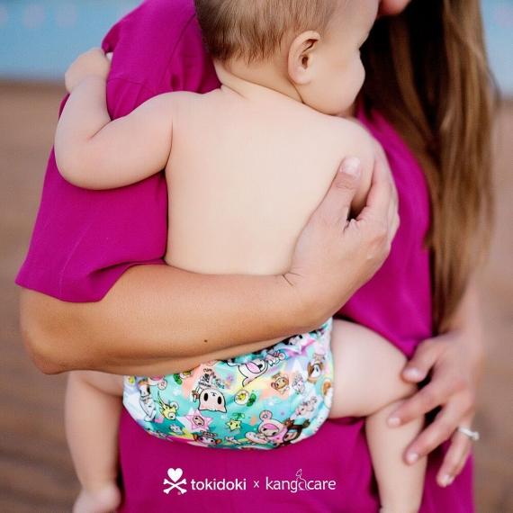 Многоразовый подгузник для новорожденного Lil Joey Kanga Care TokiSweet