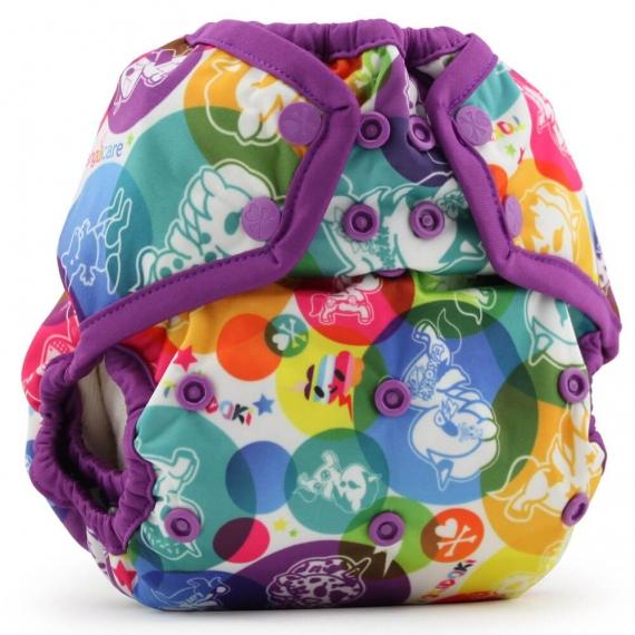 Подгузник для плавания One Size Snap Cover Kanga Care tokiCorno/Orchid