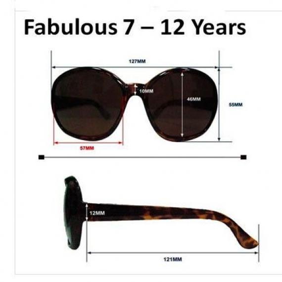 детские солнцезащитные очки Real Kids Shades 7-12 лет 712FABWHT