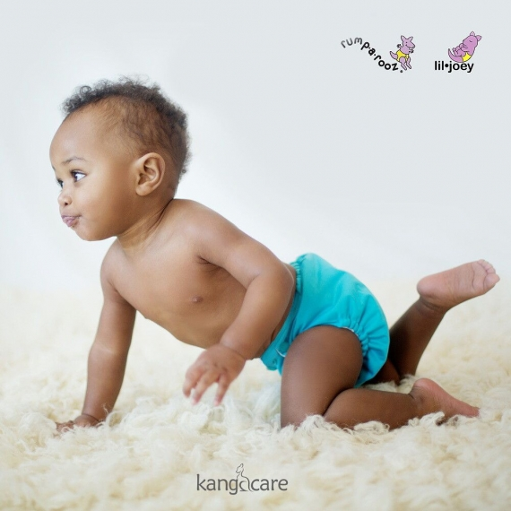 Подгузник для плавания Newborn Snap Cover Kanga Care Aquarius