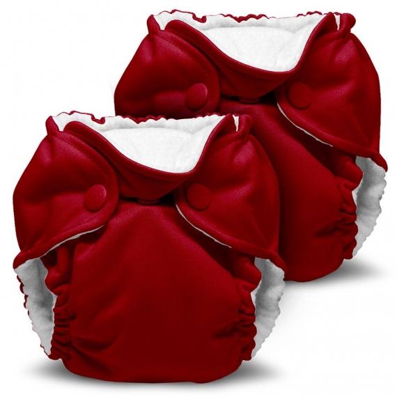 Многоразовые подгузники для новорожденных Lil Joey Kanga Care 2 шт. Scarlet