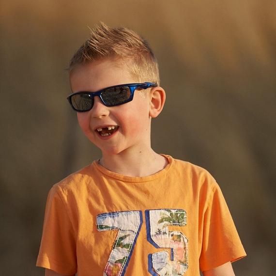 Детские солнцезащитные очки Real Kids 7+ Storm синие