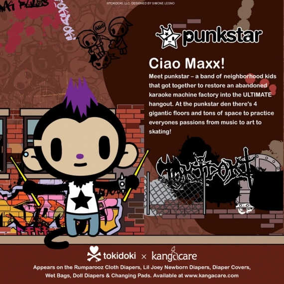 Коллекционная мягкая игрушка Tokidoki Maxx