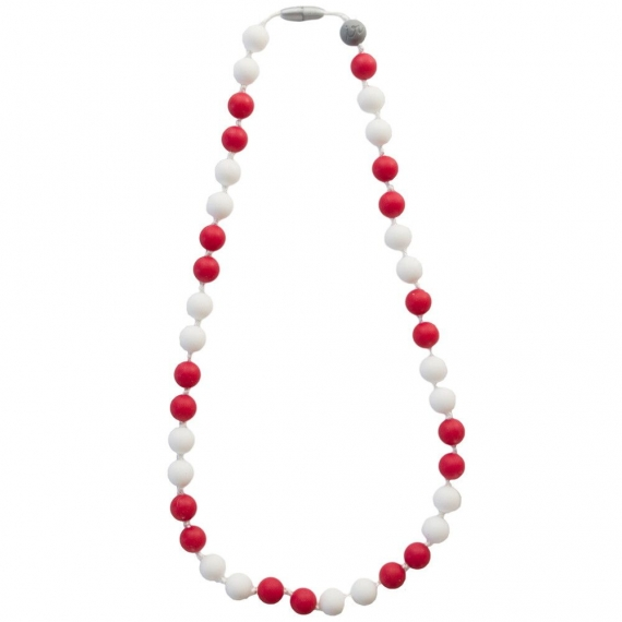 Жевательные слингобусы Itzy Ritzy Round Bead Game Day Red