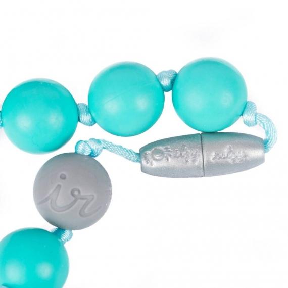 Жевательные слингобусы Itzy Round Bead Ritzy Turquoise