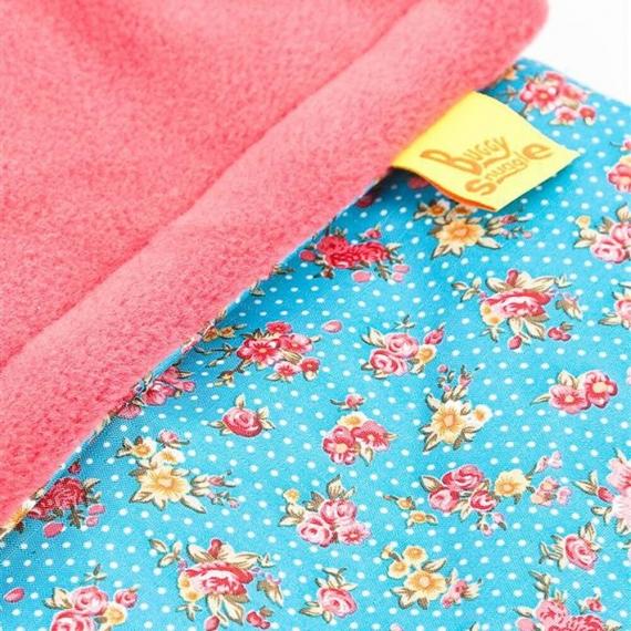 Водостойкий конверт Buggysnuggle WP Tiny Flower / Rose Pink