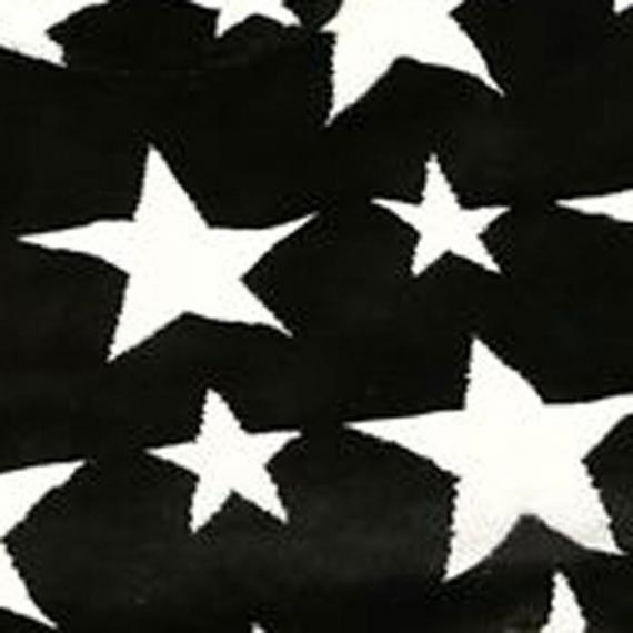Конверт Buggysnuggle Stars Black / White /искусственный мех