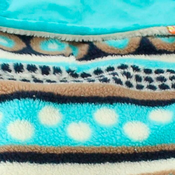 Теплый флисовый конверт Buggysnuggle Aztec Cuddle Teal