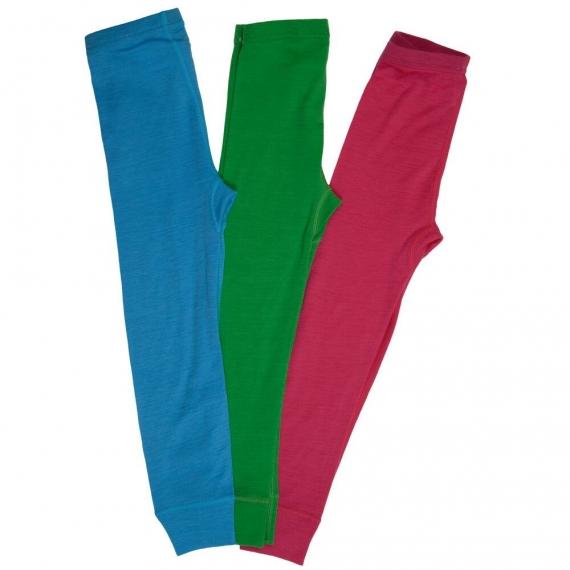 Леггинсы из шерсти мериноса зеленые (размер 5-6 лет)