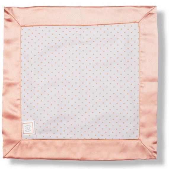 Комфортер платочек обнимашка Baby Lovie - Flannel Orange Dot
