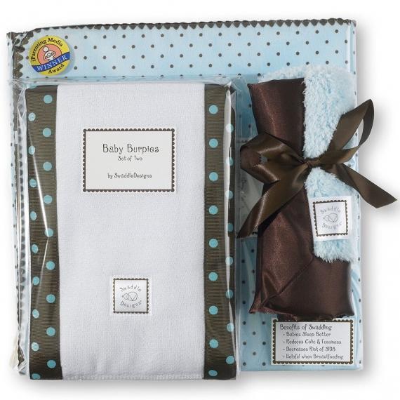 Подарочный набор для новорожденного Gift Set PB w/ Brown Dot