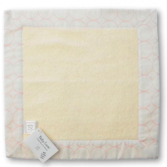 Комфортер платочек обнимашка Baby Lovie - Organic Pink Mod on IV