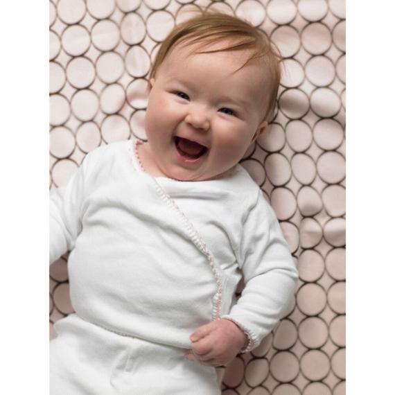 Простынь детская SwaddleDesigns Fitted Crib Sheet Kiwi Paisley