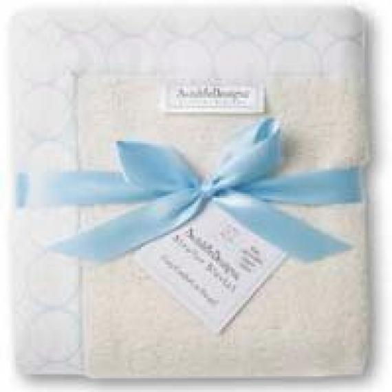 Пледы для новорожденных из органического хлопка SwaddleDesigns Organic Stroller Blanket Ivory