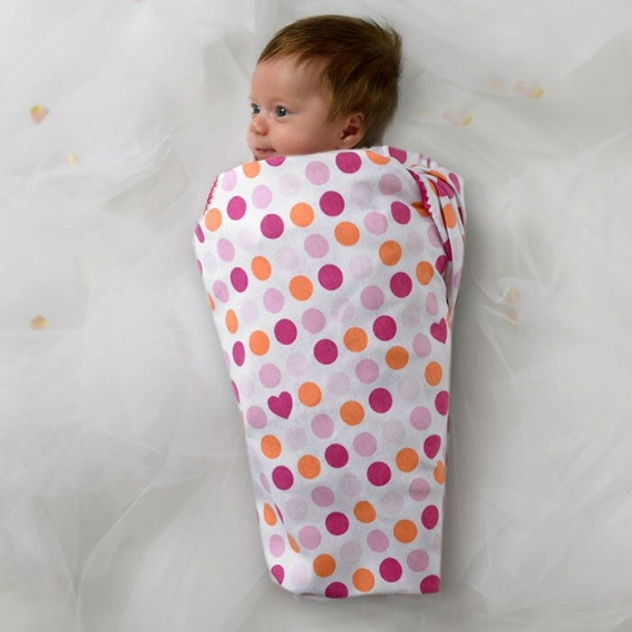 Набор пеленок SwaddleDesigns Swaddle Duo Navy Dots Duo