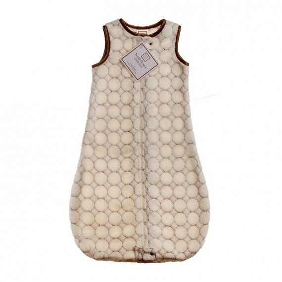 Спальный мешок детский SwaddleDesigns zzZipMe 6-12 М IV w/Mocha Puff C