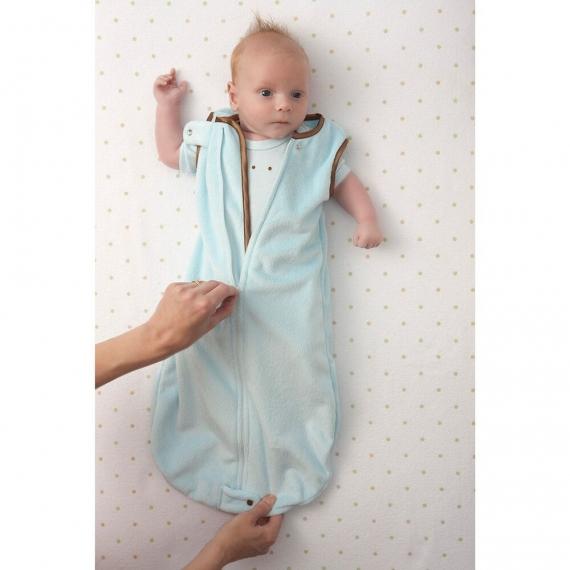 Спальный мешок детский SwaddleDesigns zzZipMe TG/TG Baby Velvet