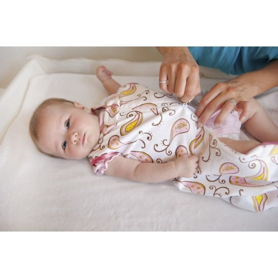 Спальный мешок для новорожденного SwaddleDesigns zzZipMe Sack 12-18M Flannel PP Elephant & Chickies