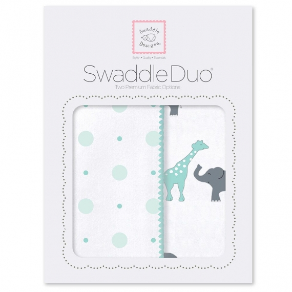 Набор пеленок SwaddleDesigns Swaddle Duo SC Circus Fun