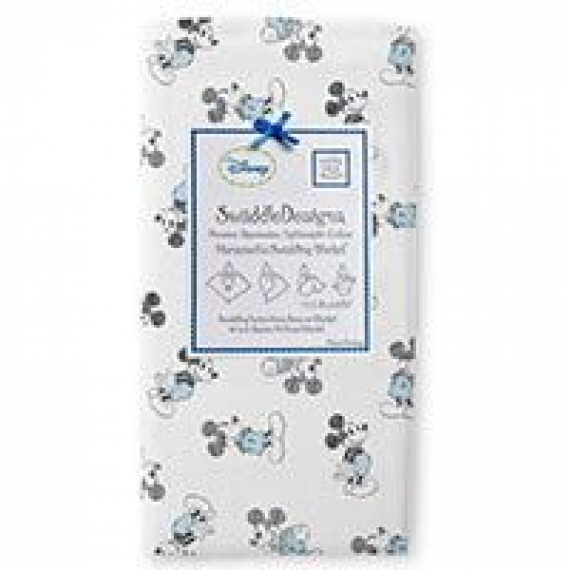 Пеленки детские тонкие SwaddleDesigns Gray Disney