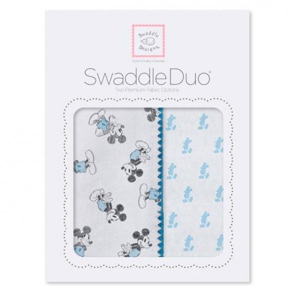 Набор пеленок SwaddleDesigns Swaddle Duo Disney Classic PB
