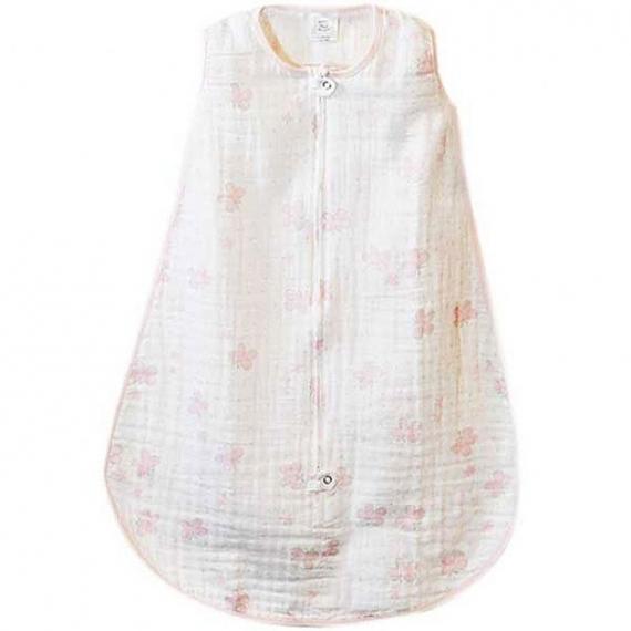 Спальный мешок Muslin zzZipMe Sack - 3-6M Pink Butterflies