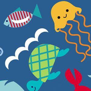 Сумочки ланч боксы 2 шт. Itzy Ritzy Snack Happens Mini Under the Sea