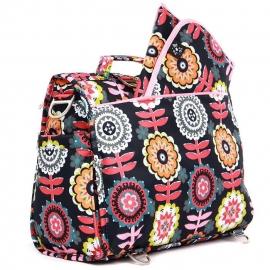 Сумка рюкзак для мамы Ju-Ju-Be B.F.F. dancing dahlias