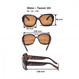 Очки для взрослых и подростков Shine черные