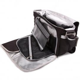 Сумка для коляски Ju-Ju-Be Better Be black/silver