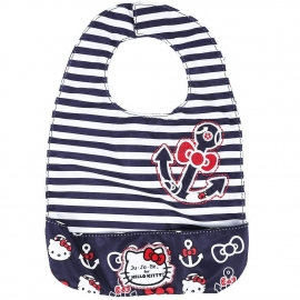 Слюнявчик Ju-Ju-Be Be Neat Hello Kitty out to sea