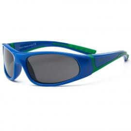 Детские солнцезащитные очки Real Kids Bolt 4+ синий/зеленый