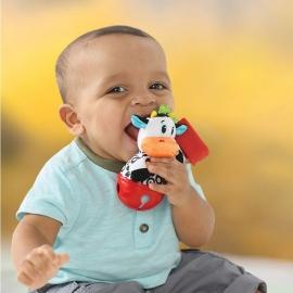 """Развивающая игрушка """"Коровка-колокольчик"""" infantino"""