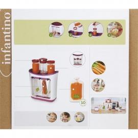 Станция для расфасовки домашнего питания Squeeze Station infantino fresh