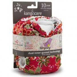 Многоразовые подгузники для новорожденных Lil Joey Kanga Care 2 шт. Perky Perennials